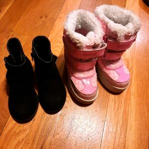 Disney Minnie mouse snow boots & ankle boots